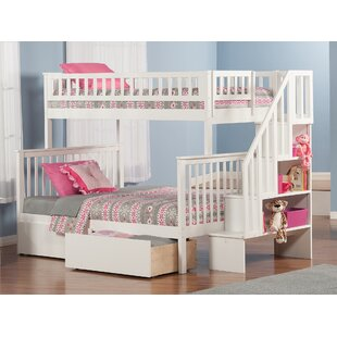 Shyann Bunk Bed With Storage by Viv + Rae 2019 Sale