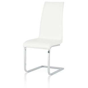 Arche Chrome Leg Side Chair (Set of 2) Orren Ellis