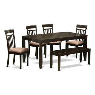 Lynfield 6 Piece Extendable Dining Set
