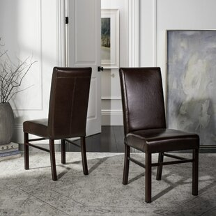 Remick Parsons Upholstered Dining Chair (Set of 2) Red Barrel Studio
