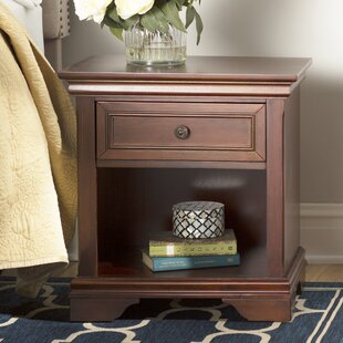 Curran 1 Drawer Nightstand by Three Posts