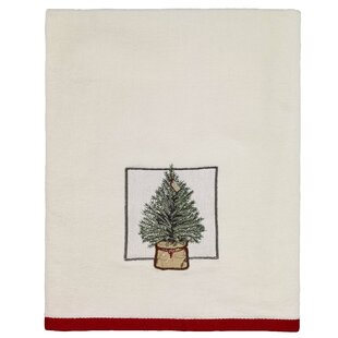 Hathaway Farmhouse Holiday Cotton Bath Towel
