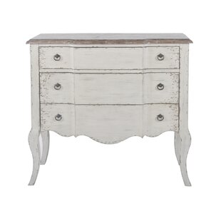 Laverty 3 Drawer Accent Chest by Ophelia & Co.