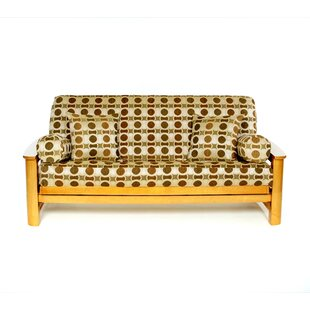 Hayley Box Cushion Futon Slipcover by Lifestyle Covers