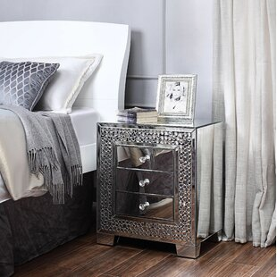 Lapham 3 Drawer Nightstand by Rosdorf Park