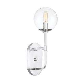 Great Price Caudill 1-Light Wall Sconce By Orren Ellis