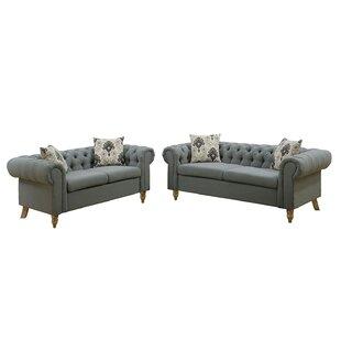 Garett 2 Piece Living Room Set