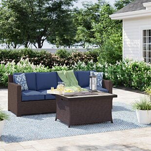 Ashdown 3 Piece Conversation Set with Cushions by Sol 72 Outdoor