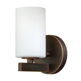 Listermann 1-Light Bath Sconce By Red Barrel Studio Wall Lights