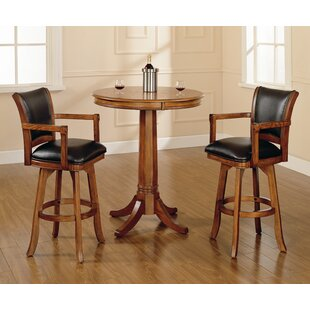 Coello 3 Piece Pub Table Set DarHome Co