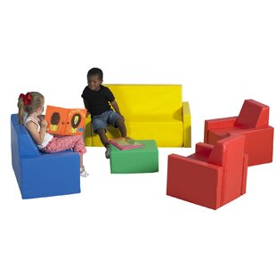 5 Piece Soft Seating Set ByChildren's Factory