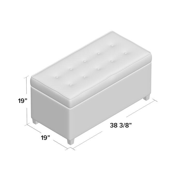 Tremendous Bourdeau Storage Bench Dailytribune Chair Design For Home Dailytribuneorg