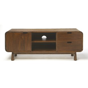 Harshman Modern Wood Entertainment Center for TVs up to 43