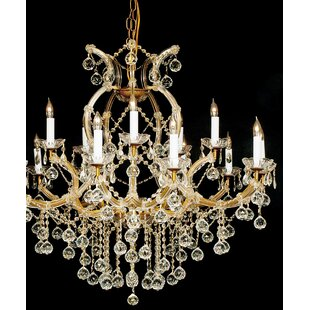 Keenum 16-Light Candle Style Chandelier by House of Hampton