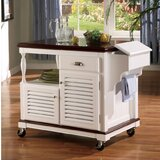 Winstead Sophisticated Kitchen Cart by August Grove®