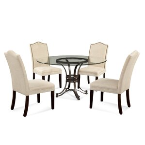 Lamb Glam 5 Piece Dining Set by Willa Arlo Interiors