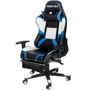High Back Adjustable Swivel Gaming Chair ByMerax