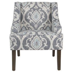 Edmund Swoop Armchair by Bungalow Rose