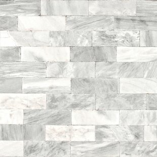 Marble tile wallpaper tile design ideas for Black and white marble bedding