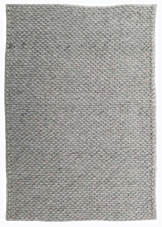 Modern Rugs Tartu Silver Gray Felt Shag Rug Wayfair