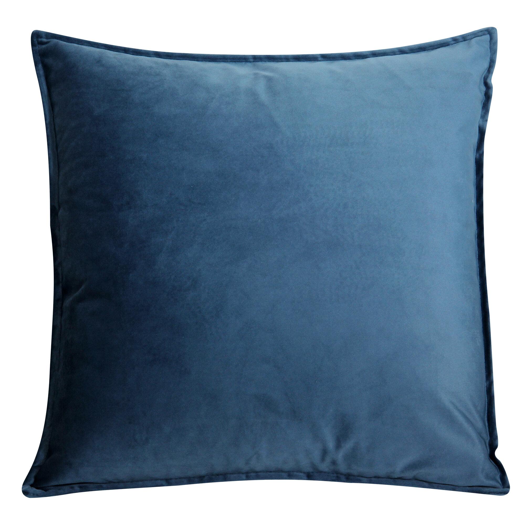 Ebern Designs Moorebank Velvet Throw Pillow Cover Reviews Wayfair