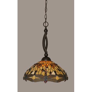 August Grove Quinn 1-Light Pendant