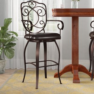 Hebb 30 Swivel Bar Stool Astoria Grand