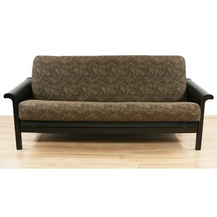 Paisley Box Cushion Futon Slipcover