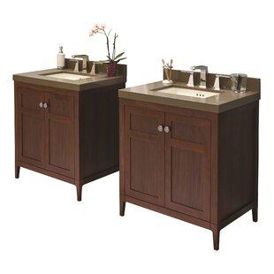 Briella 60 Double Bathroom Vanity Set by Ronbow