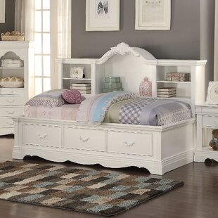 Eustice Bed with Bookcase