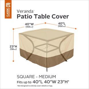 Red Barrel Studio Water Resistant Patio T..
