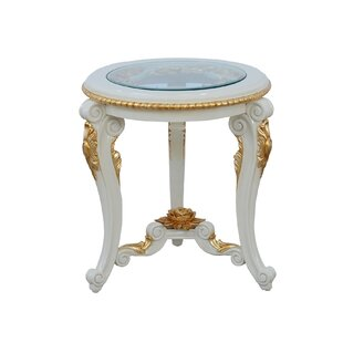 Cheyenne Round End Table by Astoria Grand