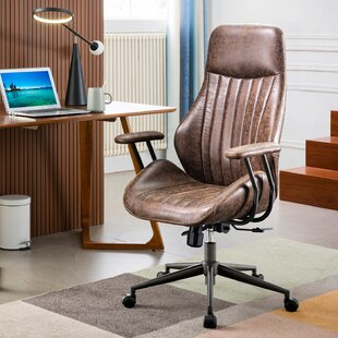 High Back Rustic Office Chairs You Ll Love In 2021 Wayfair