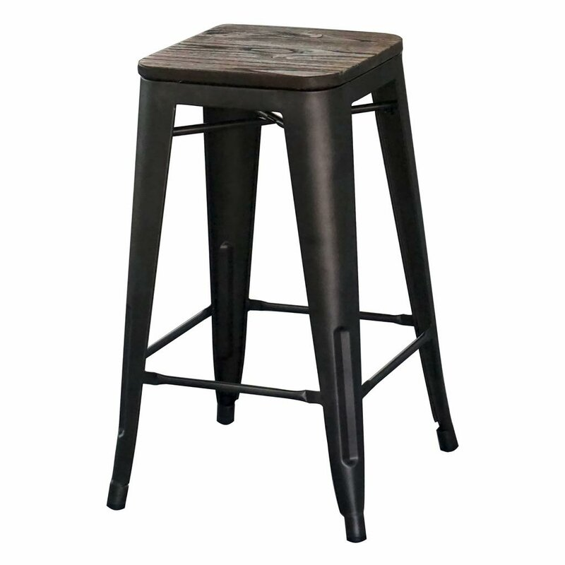 Wivenhoe Counter Stool 26 In Gunmetal Reviews Allmodern