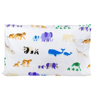 Endangered Animals Pillow Case