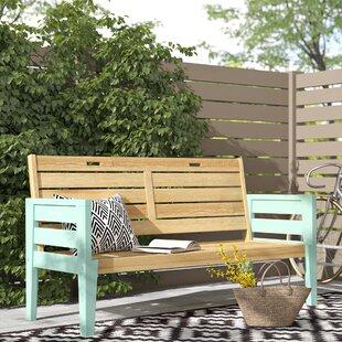 Lillie Wooden Bench By Zipcode Design