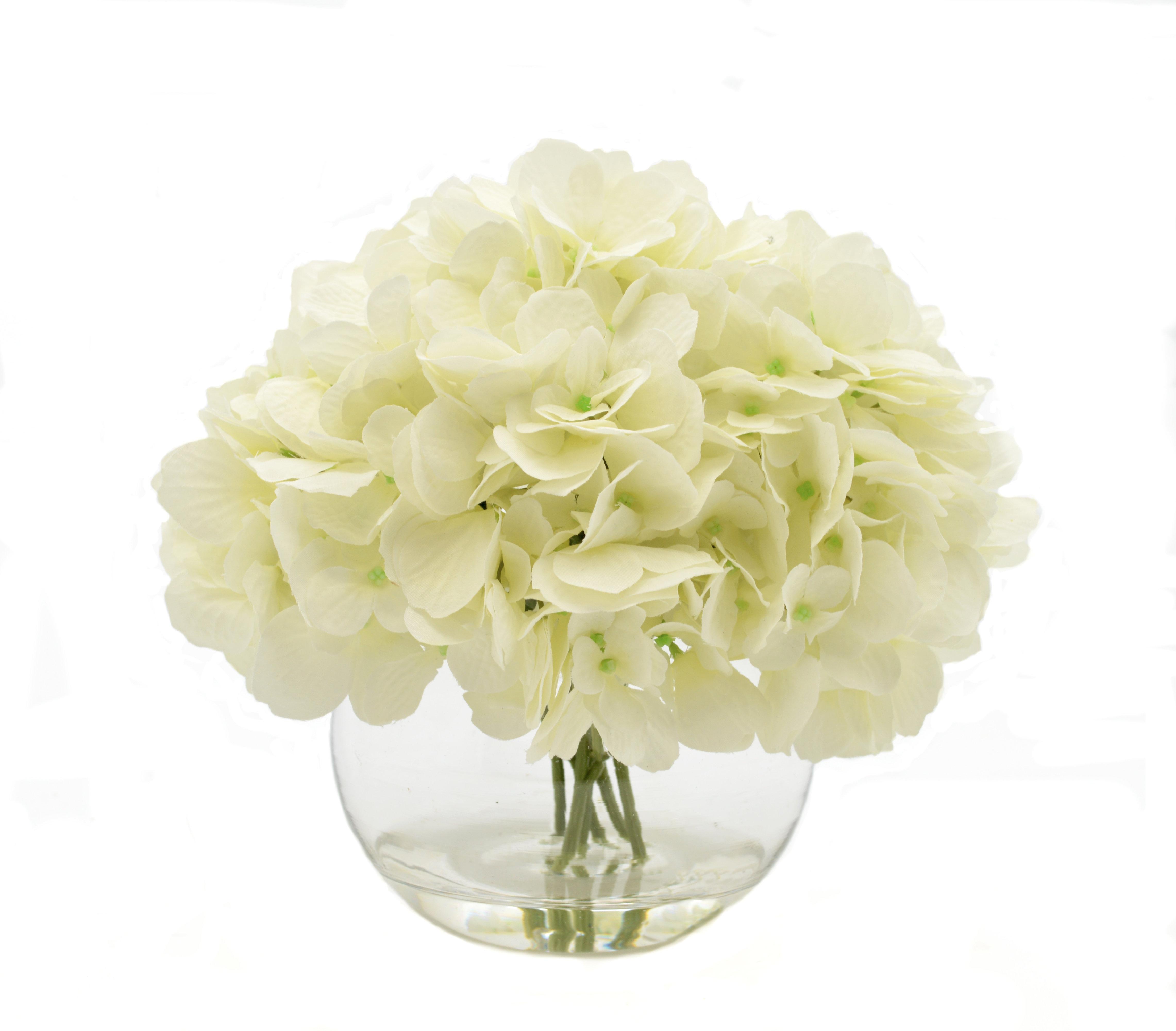 White Hydrangea Bouquet Reviews Joss Main