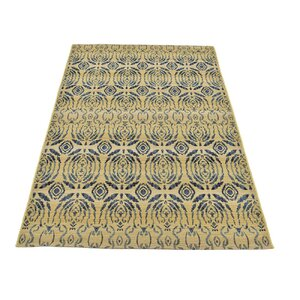 Jamie Beige Oriental Indoor/Outdoor Area Rug