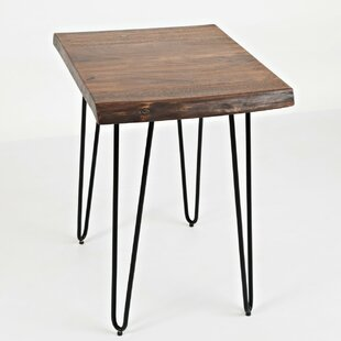 Arnone Wood and Metal End Table