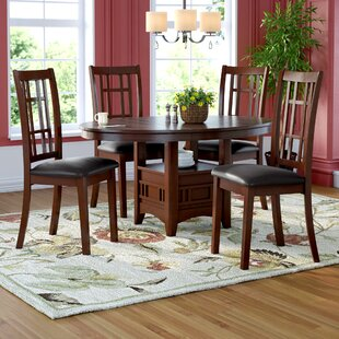 Virna 5 Piece Dining Set by Red Barrel Studio