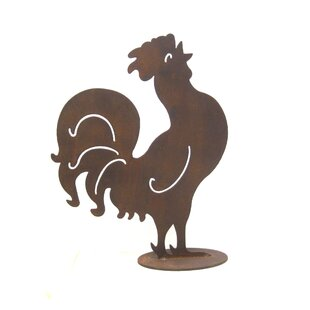 Z Garden Party Rooster Statue