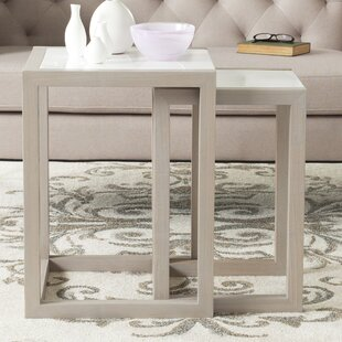 Bartholomew 2 Piece Nesting Tables by Orren Ellis