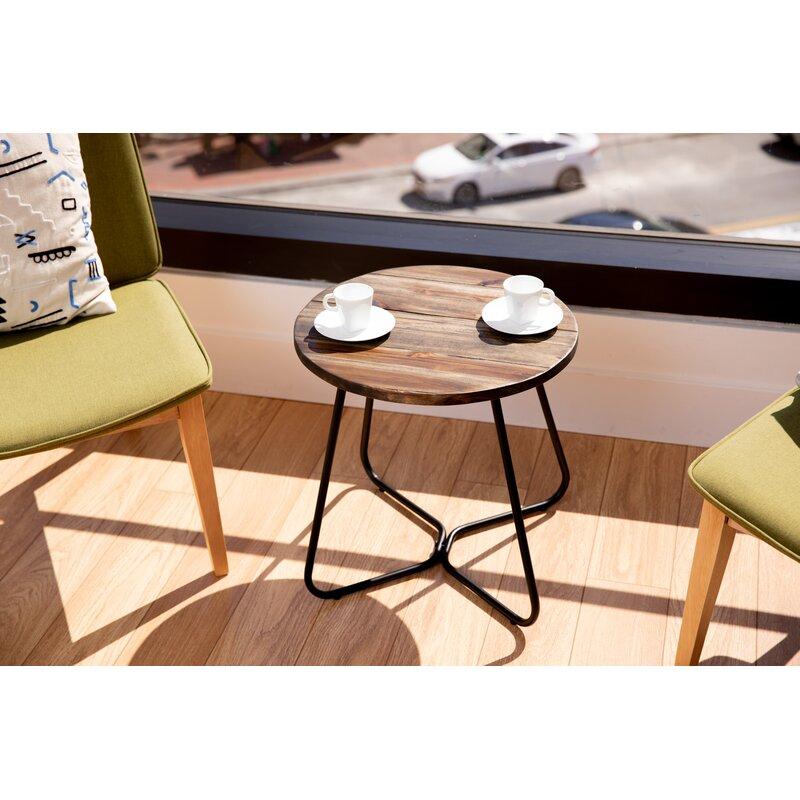 Union Rustic Clemens End Table Reviews Wayfair