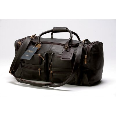 "Xl Executive Sport 22"" Carry-on Duffel Claire Chase Color: Café"