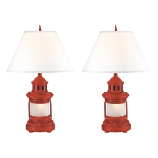 Megan Lantern 27 Table Lamp (Set of 2)