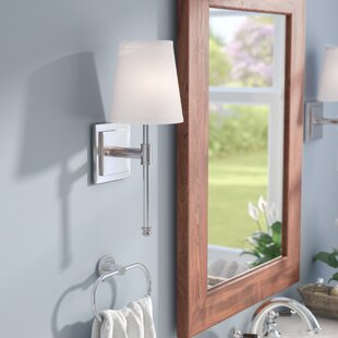 Affordable Fielding 1-Light Bath Sconce By Three Posts
