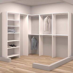 Reviews Demure Design 90.25W - 93W Closet System By TidySquares Inc.