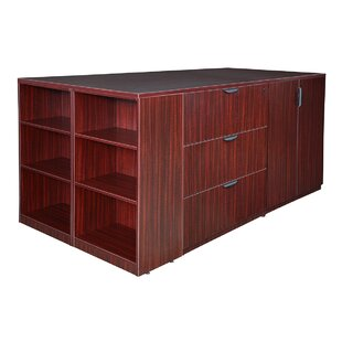 Latitude Run Linh Stand Up 2 Storage Cabinet 2 Quad 6-Drawer Lateral Filing Cabinet