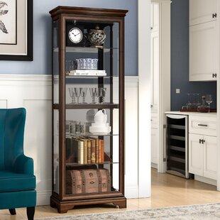 Charbonneau Lighted Curio Cabinet