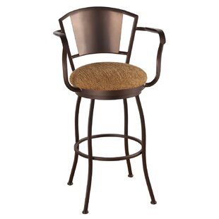 Leia 30 Swivel Bar Stool Alcott Hill